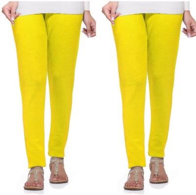 S Redish Women,s Yellow Leggings