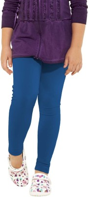 Go Colors Girl's Blue Leggings