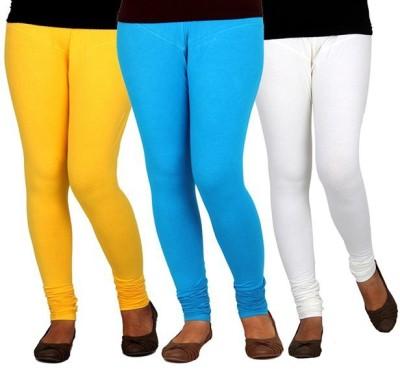 XCL Women's Yellow, Blue, White Leggings