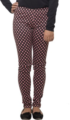Fashion Cult Women's Pink, Black Jeggings