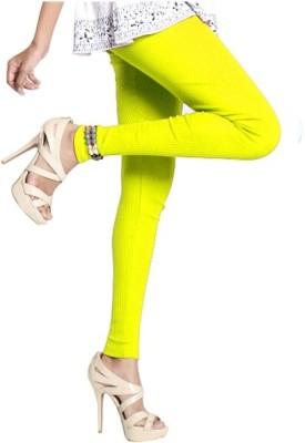 Notyet By Us Women's Yellow Leggings