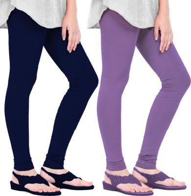 Mianuova Women's Blue, Purple Leggings