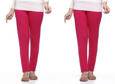 S Redish Women,s Pink Leggings