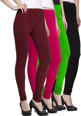 VENUSTAS Women's Multicolor Leggings