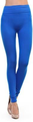 SUNWIN Women's Blue Leggings