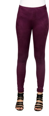 Sheenbottoms Women's Purple Leggings
