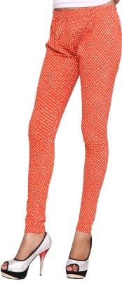 ChhipaPrints Women's Orange Leggings