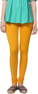 People Women's Yellow Leggings
