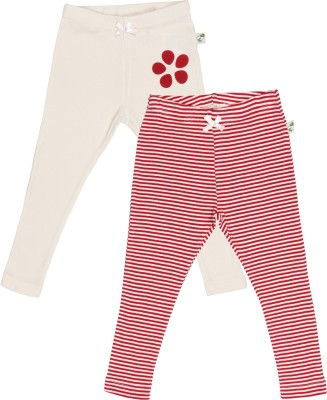 PRANAVA Baby Girl's Red Leggings