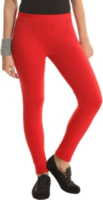 Groversons Women's Red Leggings