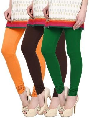 Skyline Trading Women's Multicolor Leggings(Pack of 3) at flipkart
