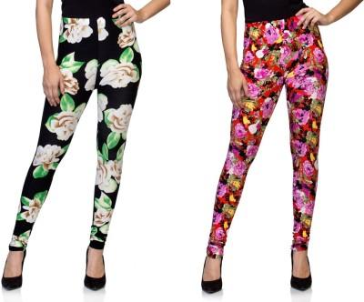 Tara Lifestyle Women's Multicolor Leggings