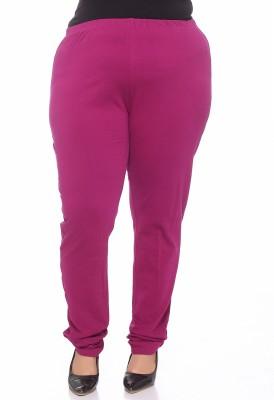 PlusS Women's Purple Leggings