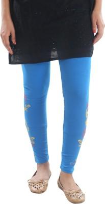Stay Blessed Women's Blue Leggings