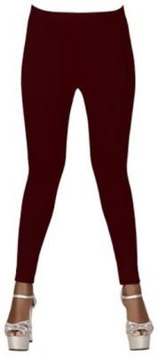 The perfect comfort Women's Maroon Leggings