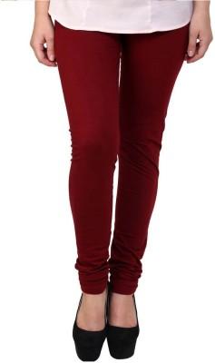 Fadattire Women's Maroon Leggings
