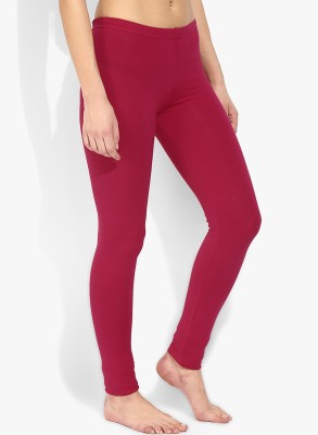 Saree Exotica Women's Pink Leggings