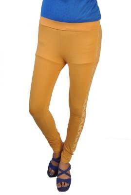 No Code Women's Yellow Leggings