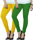 Arma Women's Green, Yellow Leggings (Pac...