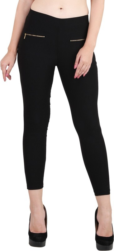 Phashion Town Women's Black Jeggings
