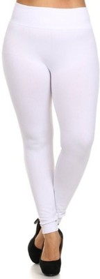Designerkarts Women's White Leggings