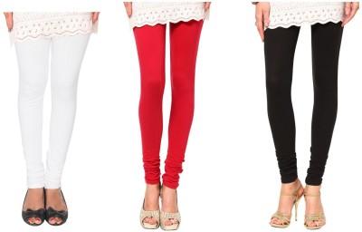 Raro Women's Red, White, Black Leggings