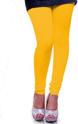 OrganicO Women's Yellow Leggings