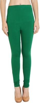 Red Rose Women's Green Leggings