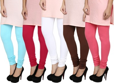 Fizzaro Women's Red, Blue, White, Brown, Pink Leggings