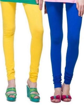 StyleJunction Women,s Blue, Yellow Leggings