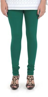 Vami Women's Dark Green Leggings