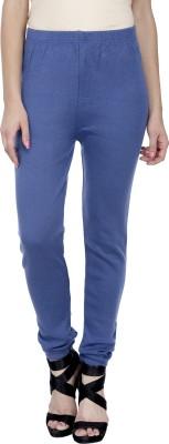 Trendline Women's Blue Leggings