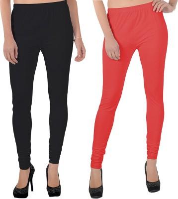 X-Cross Women's Black, Red Leggings