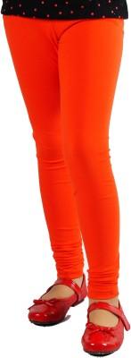 Naughty Ninos Girl's Orange Leggings