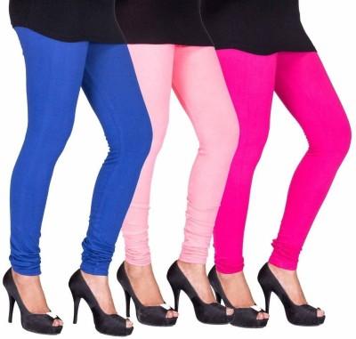 Roma Creation Women's Blue, Pink, Pink Leggings