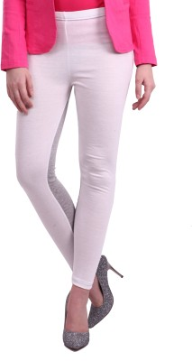 Street 9 Women's White, Grey Leggings