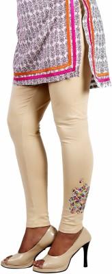 Ankita Women's Beige Leggings