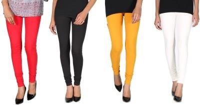 Ally Of Focker Women's Red, Black, White, Yellow Leggings