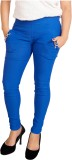 Parv Collections Women's Blue Jeggings