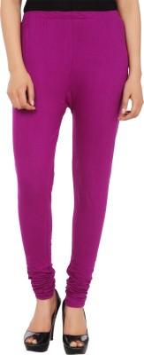 Trendline Women's Purple Leggings