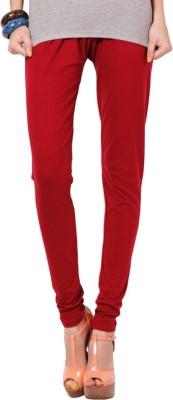 Zweena Women's Maroon Leggings