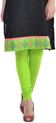 Jainam Girl's Light Green Leggings