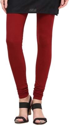 Aricrea Women's Maroon Leggings