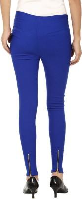 Emblazon Women's Blue, Blue, Black Jeggings