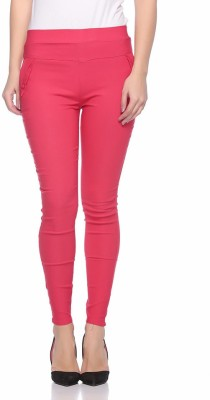 LADA Girl's Multicolor Jeggings