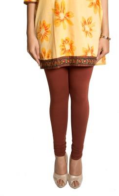 Red Saffron Women's Brown Leggings