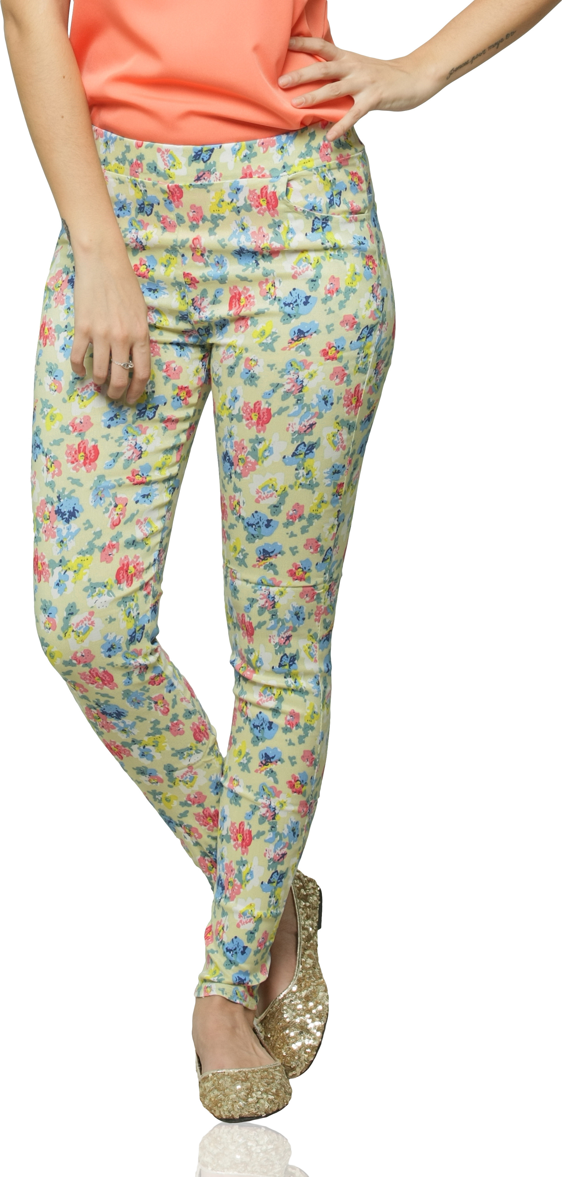 Miss Chase Womens Multicolor Jeggings