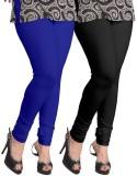 Ambitious Women's Black, Blue Leggings (...