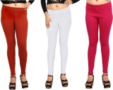 Comix Women's Orange, White, Pink Leggin...
