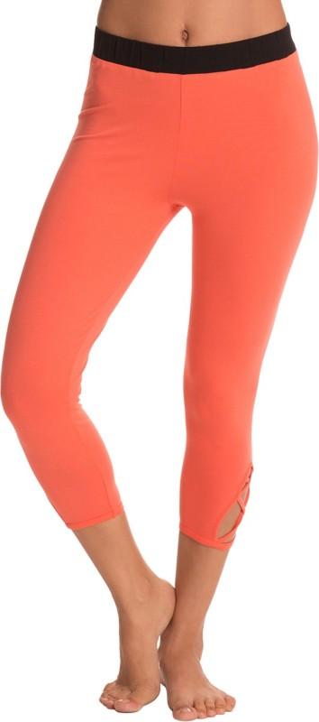 PrettySecrets Women's Orange Leggings